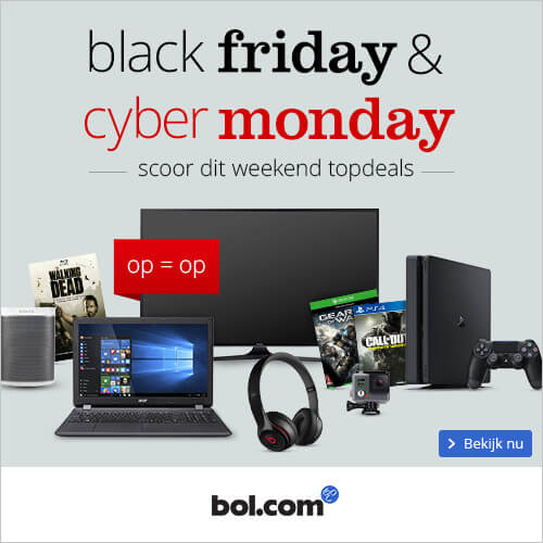 bol.com black friday 2018