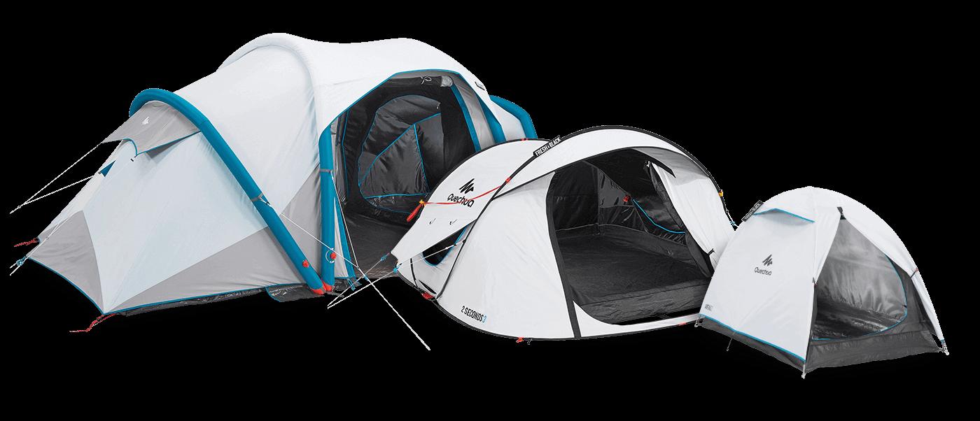 Decathlon Tent Fresh and Black Tenten