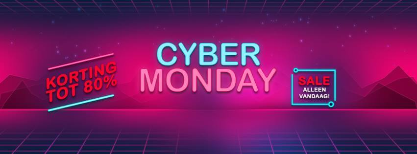 voetbalshop cyber monday