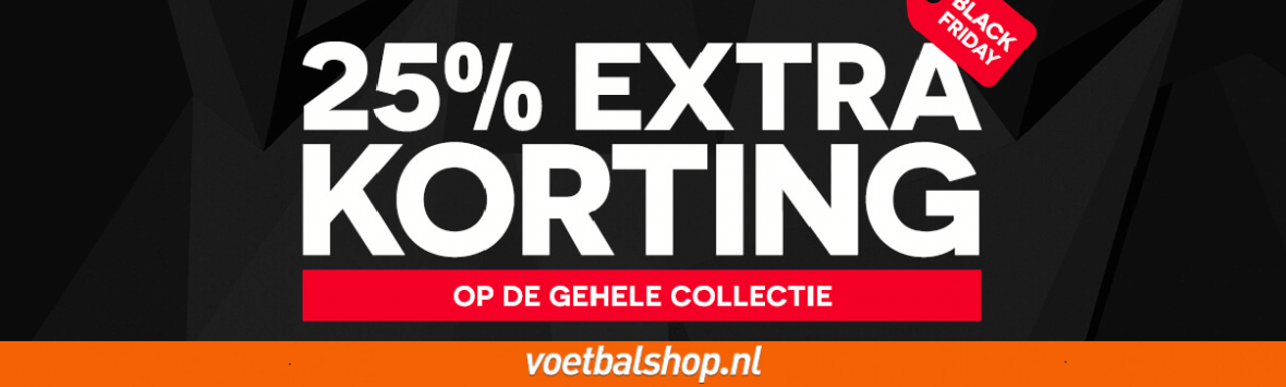 voetbalshop black friday